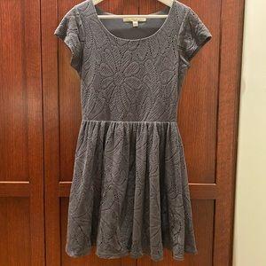 Scoopneck Gray Lauren Conrad Dress
